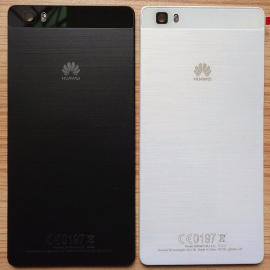 For HUAWEI P8 lite Back Cover Door Rear Panel Plate Glass Housing ...