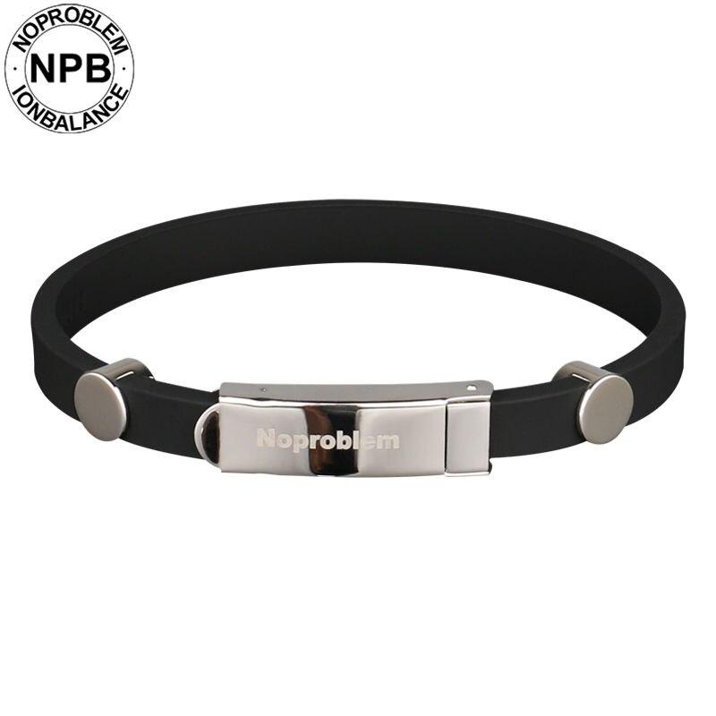 Bracelets de bande de tourmaline de germanium de sport imperméable à l'eau
