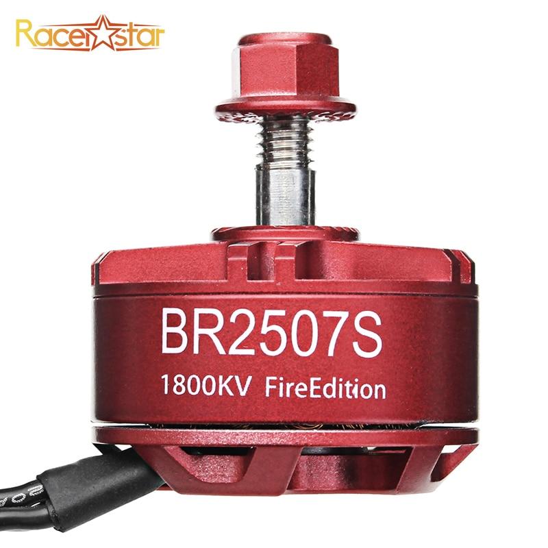 1/4 unids Racerstar 2507 BR2507S fuego edición 1800KV 2400KV 2700KV 3-6 s de Motor sin escobillas para RC MODELO DE Multicopter marco Kit ACC