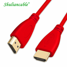 Shuliancable  hdmi to hdmi cable hdmi 1.4 3D 1080p cabel hdmi for HD TV LCD Laptop PS3/4 Projector Computer Cable 1m1.5m2m3m5m