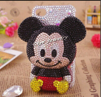High Quality Bling Bling Rhinestones Minnie Custom Cases for Samsung s8, s8 plus case