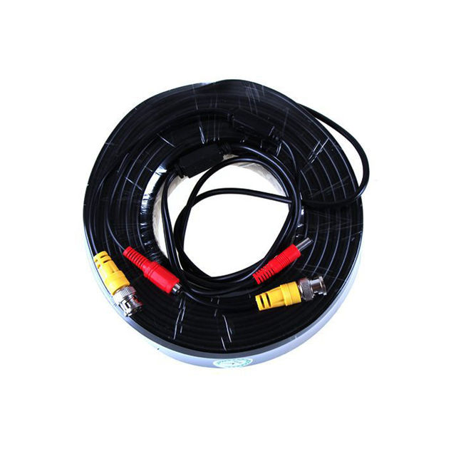 5M 10M 20M 30M 40M 50M BNC Cable Video Power Output CCTV Cable BNC DC Plug Wire for CCTV Camera Surveillance System