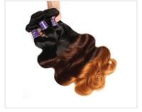 """allove 3 тона ломбер перуанской волос средства ухода за кожей волна т1ь/4/30 человеческие волосы ткань связки 10 """"-28 """"может купить 3 или 4 пучки Реми волосы расширения"""