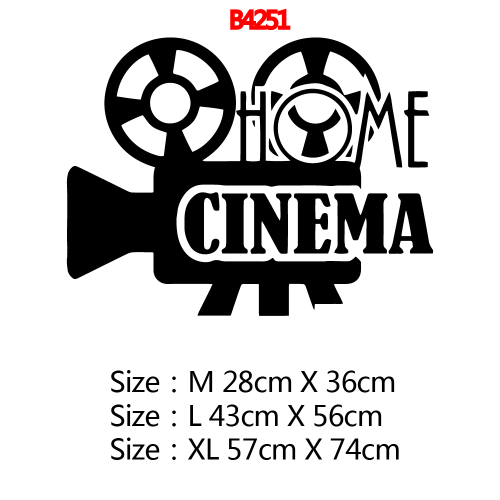 Creative cinema Pvc Wall Decals Home Decor Waterproof Wall Decals Decor Wall Decals in Wall Stickers from Home Garden