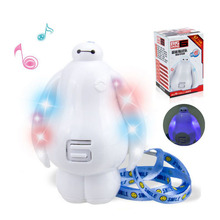 Children Baby Toy Cartoon Vision Baymax Educational Story Learning Machine With Light Music