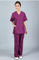 New plus size women s v neck summer nurse uniform hospital medical scrub set clothes short.jpg 250x250