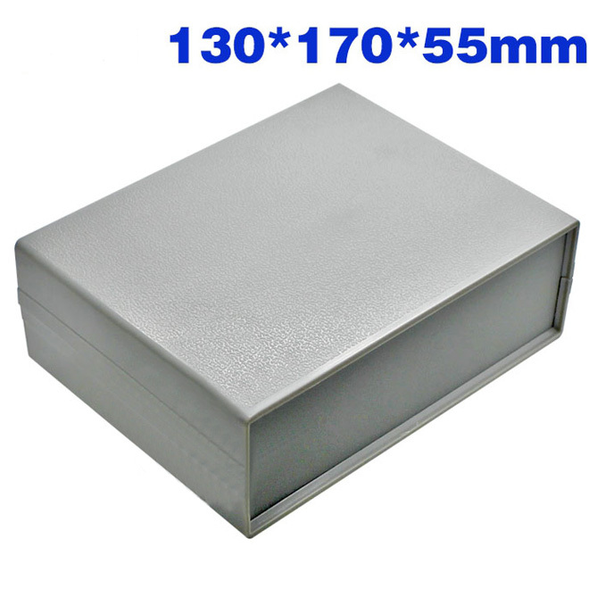 2PCS Electronic Plastic Enclosure Project Box Instrument Enclosure case DIY -130*170*55mm for Electirical base 4pcs a lot diy plastic enclosure for electronic handheld led junction box abs housing control box waterproof case 238 134 50mm