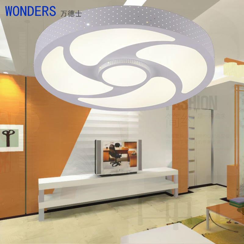 Современные Stype LED гладить Ceiling огни для гостиной спальня прихожей Home Ceiling лампы украшения освещение светильники