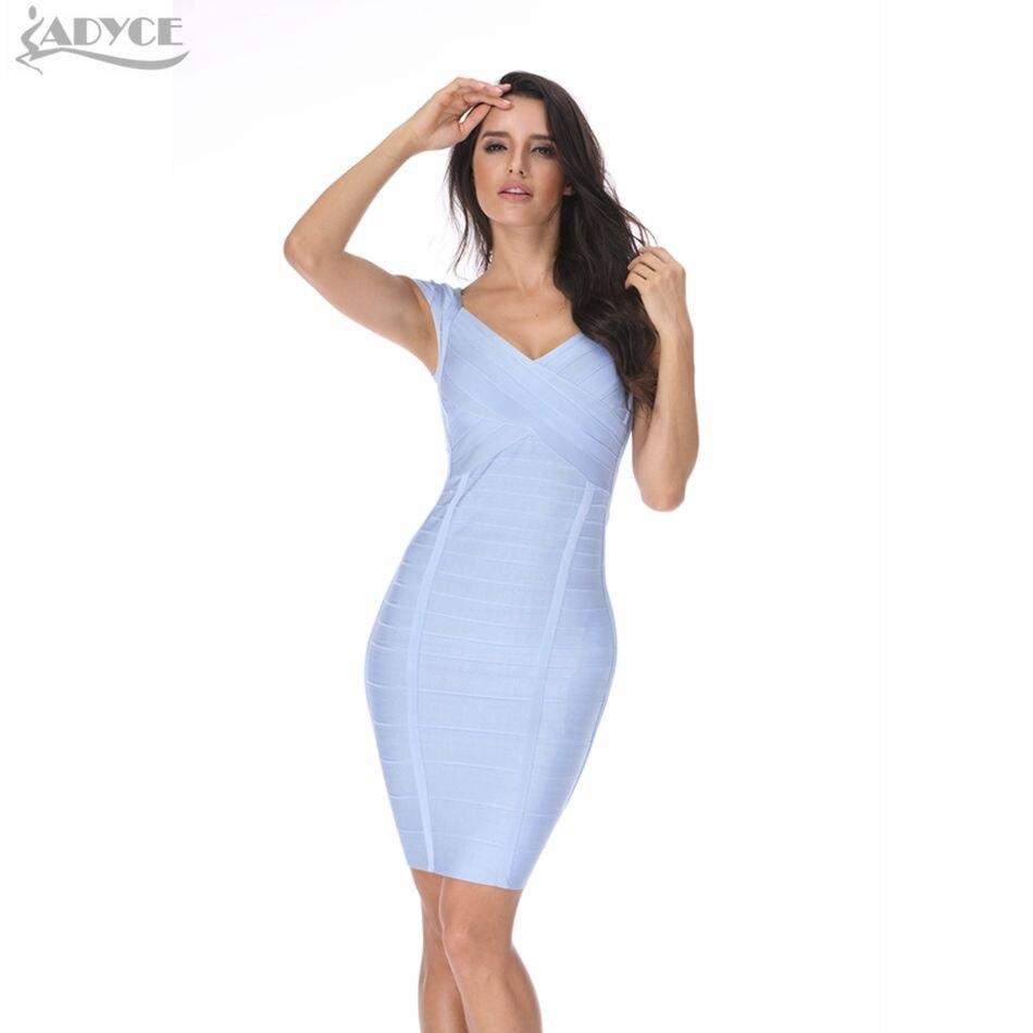 2017 neue sommerkleid Frauen Party Kleid Sexy khaki licht blau ...