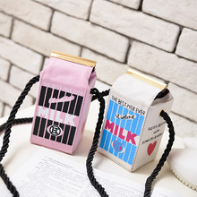 fun pack  2018 edition mini bags of milk packages zippo One shoulder aslant BaoChao womens mobile phone package