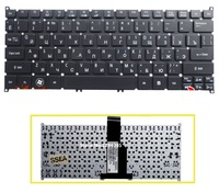 SSEA New Russian keyboard RU for ACER Aspire S3 S3-371 S3-391 S3-951 S5 S5-391 726 AO765 756 MS2346 V5-131 laptop keyboard