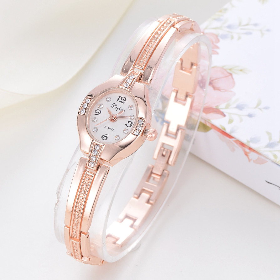 2017 Lvpai Brand Women Luxury Bracelet Watch Ladies Rose Dial Quartz Fashion WristWatches Casual Dress Sport Watch Clock LP172 leon angel test 3 to