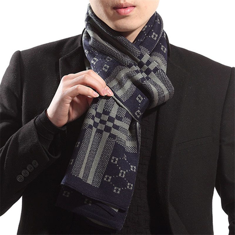 Fashion Fall Winter Desigual Men Scarf Soft Shawl Wrap Scarves Designer bufandas Scarfs High Quality Gifts For Boyfriend NWJ053