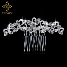 Buy tiara plated silver comb and get free shipping on AliExpress.com de6e8c3a3bbc