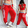Best Version, New fashion Brand Harem Hip Hop Dance Sweatpants Costumes female stage performance wear trousers jazz  Pants