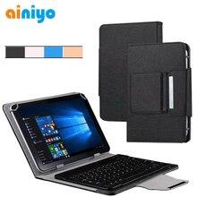 Universal teclado sem fio bluetooth para 9 9.7 10 10.1 polegada android windows tablet pc, caso de teclado para 9.7 10 10.1 polegada tablet
