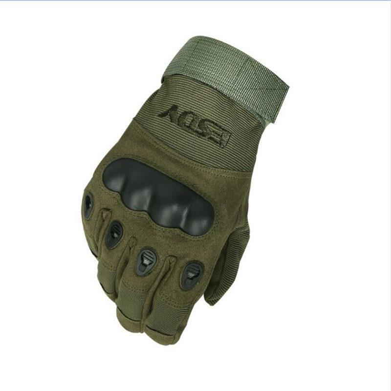 ESDY Tactical Gloves Military Army Paintball Airsoft Outdoor Sports Shooting Police Carbon Hard Knuckle Full Finger Gloves