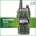 Envío Libre El Mejor Precio 5 W Baofeng UV-82 de Doble Banda Walkie Talkie Militar Ejército Seguridad Auricular Libre