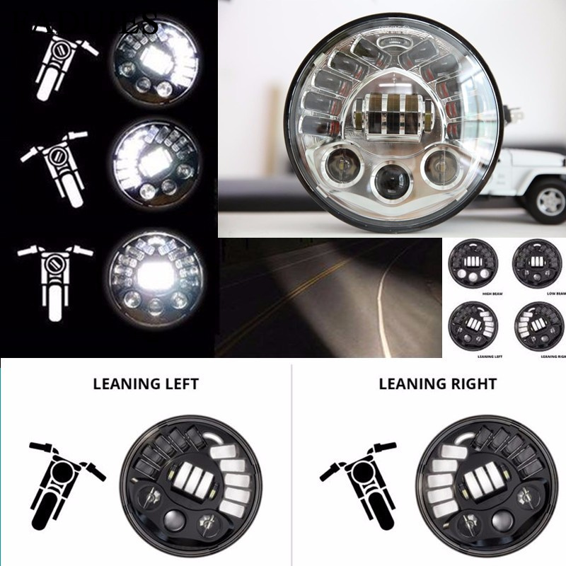 "FADUIES 7 ""Projection Daymaker Adaptive Led Headlight For Harley Motorfiets Voor BMW R NineT R9T 7 inch LED Koplamp"
