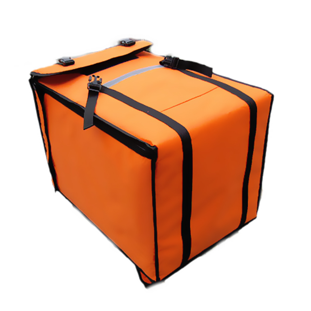 69L Insulated Pizza Bag Large Thermal Cooler Bag Food Container Refrigerated Incubator Hamburg Takeaway Cake Delivery Backpacks in Cooler Bags from Luggage Bags