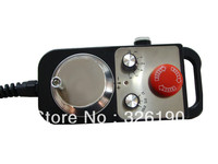 Pendant handwheel, manual pulse generator with Emergency stop and enable switch
