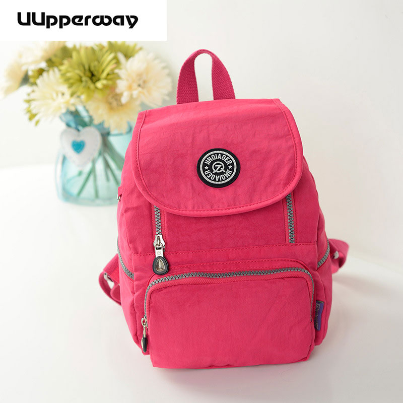 Multifunctional Women Backpack Preppy Youth Japanese Style Shoulder Bag Nylon Schoolbags for Teenager Girls Travel Bags