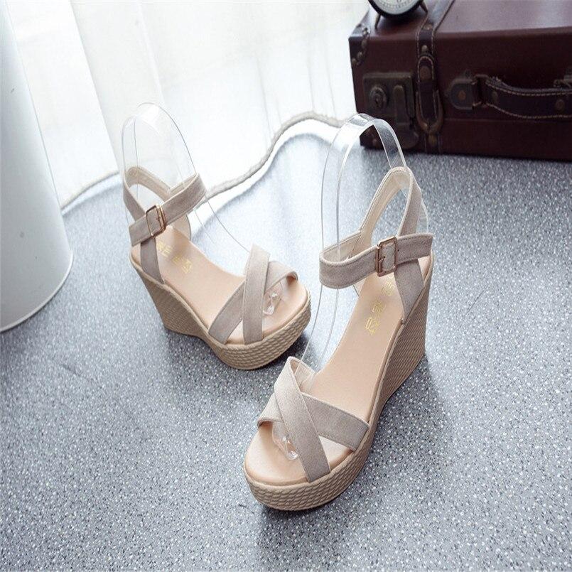 Sangle Bouche Sandales Zapatos Pente Antidérapante Mujer Sandale Beige Sandalias noir Plate Femmes Haute forme De Poissons Nouvelle Talons Arrivée rouge Boucle 2018 Ew4qXxgZn