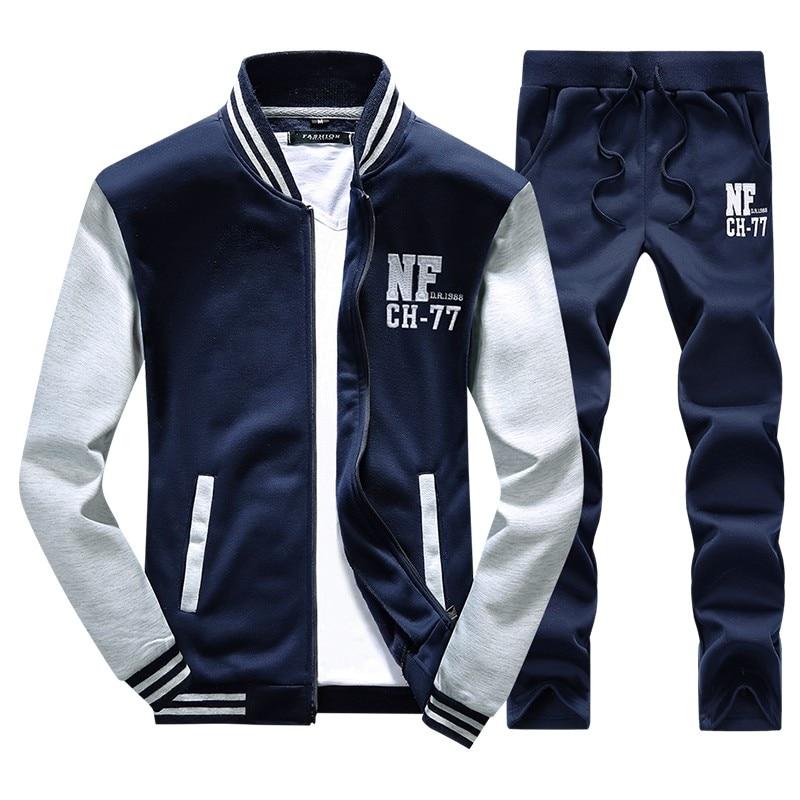 Спортивный костюм брендовая мужская 2018 хип-хоп с длинным рукавом сплошной цвет с капюшоном Толстовка Мужская s Толстовка спортивный костюм пот пальто повседневная спортивная одежда