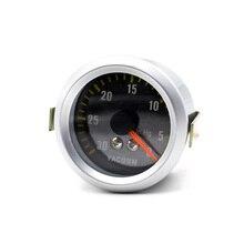YOMI 2 дюйма 52 мм Автомобильный Вакуумный Манометр 0-30 дюймов Hg Универсальный УГЛЕРОДНЫЙ волоконный вакуумметр для лица