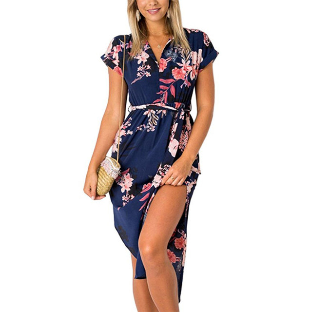 Summer Geometric Print Dress15