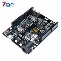 UNO+WiFi R3 ATmega328P+ESP8266 (32Mb memory) USB-TTL CH340G For Arduino Uno R3 , NodeMCU for WeMos ESP8266 One