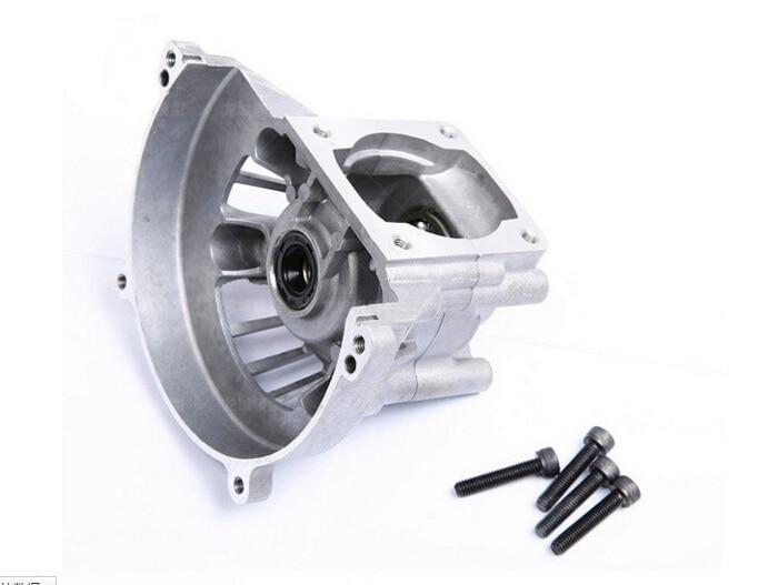 32cc engine parts Crankcase set (including bearing, oil seal) for  32cc Rovan engine Zenoah engine GR320 aluminum water cool flange fits 26 29cc qj zenoah rcmk cy gas engine for rc boat