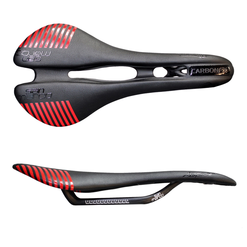 2018 New full San Marco carbon saddle road mountain bike bicycle saddle bike seat boby geometry with PU leather new arrival carbon saddle bicycle bike saddle seat road bike saddle sillin bicicleta sillin carbono sella carbonio