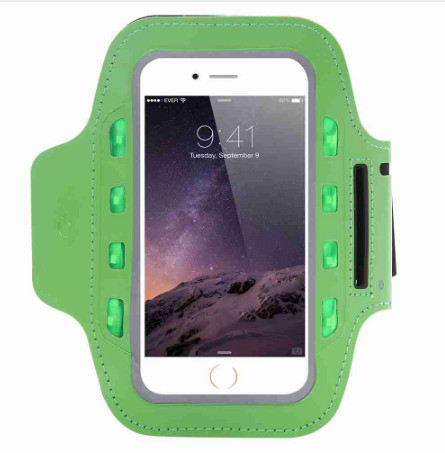 US $5 01 |General LED Light Flashing Sport Pouch Running Waterproof Gym Arm  Band Case For huawei p9 lite p9 p8 honor 8 5c 5a 5 5