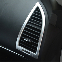 MONTFORD Front Dashboard Panel Side Air Condition AC Vent Outlet Cover Trims For Nissan Armada Patrol