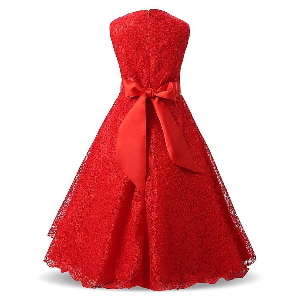Mädchen party zeremonie kleid sommer ärmelloses prinzessin kleid für ...