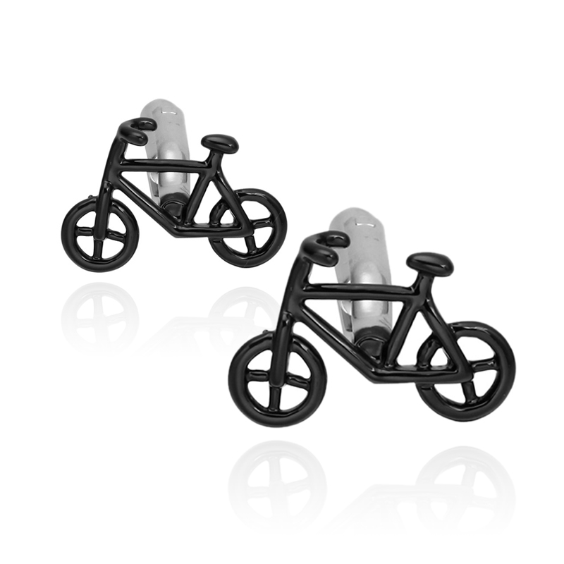 Novel Bike Styling Cufflinks New Trendy Simple Style Gemelos Sleeve Button High-quality Hot Selling Cuff Links Free Shipping
