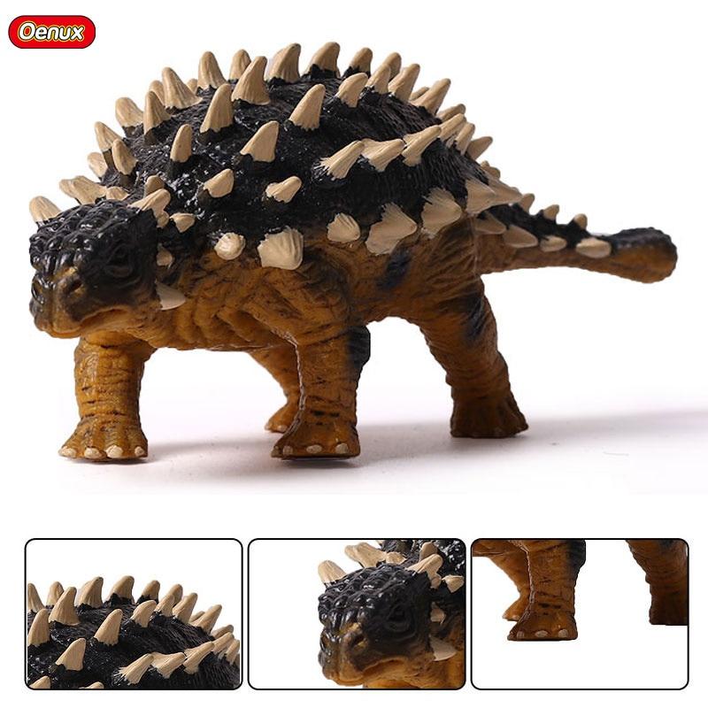 Oenux Jurassic Simulation Ankylosaurus Dinosaurs font b Action b font font b Figures b font Saichania