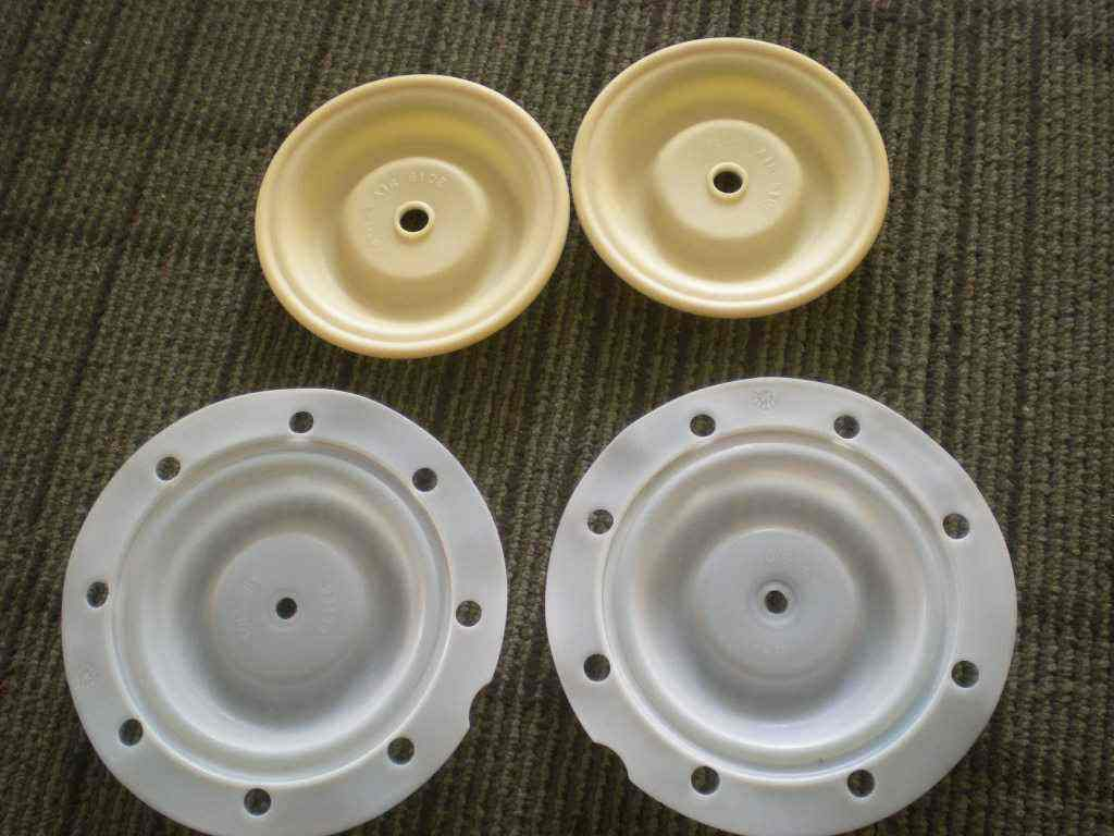 Ingersoll Rand 50 Hill Road Rubber Teflon Diaphragm 63937 ingersoll in2817bk