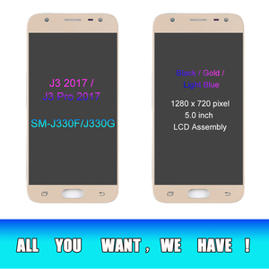 Image 3 - J330 LCD For Samsung Galaxy J3 2017 Replacement LCD Screen J330F SM J330FN LCD Display+Touch Screen Digitizer Assembly Adhesive