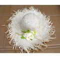 Fashion Straw Hats for Women Women Summer Sun hat Female Beach Hats Wide Brim Floppy Hats Y19