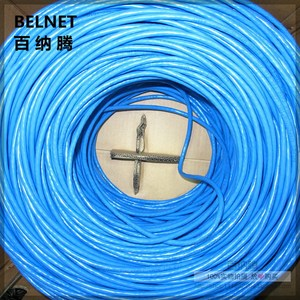 Image 5 - 1000ft 305m Blue UTP CAT6 Network Cable RJ45 Box Line Copper Wire OFC Twisted Pair Computer Lan For Engineering Gigabit Ethernet