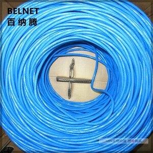 Image 5 - Сетевой кабель UTP CAT6 синего цвета, 305 футов, М, линия RJ45, медный провод OFC, витая пара, компьютерная Lan для инженерной гигабитной сети Ethernet