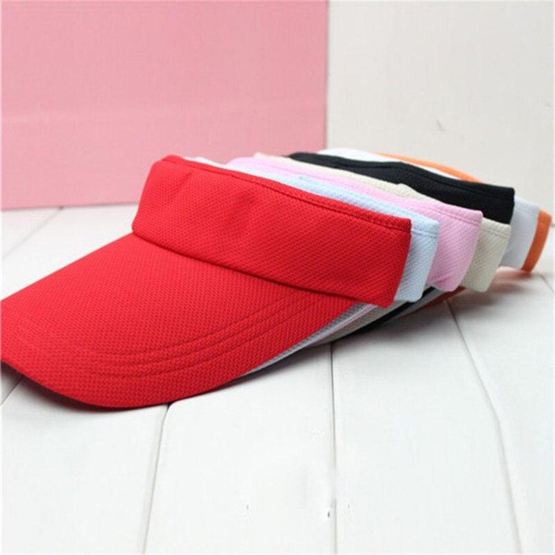 2016 Hot Summer Unisex Sun Visors  Hat Casual Tennis Adjustable Hats For Women/Men ZT1 B3