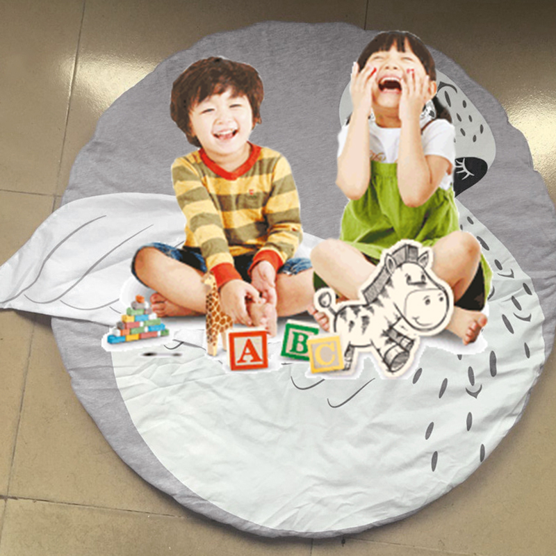 Newborn Baby Floor Playing Mats Baby Soft Crawling Blanket