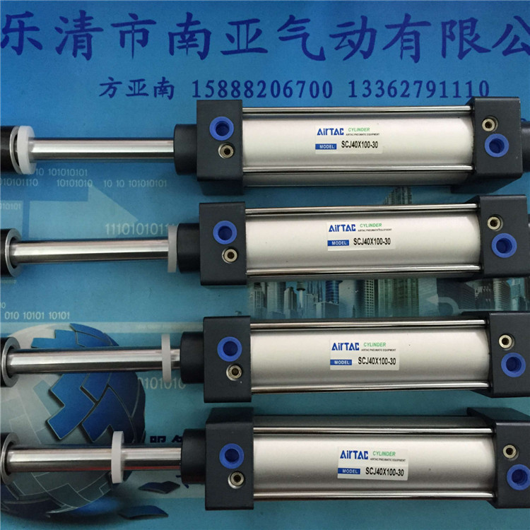 SCJ40X100-30 AIRTAC Standard cylinder air cylinder pneumatic component air tools SC series cxsm10 10 cxsm10 20 cxsm10 25 smc dual rod cylinder basic type pneumatic component air tools cxsm series lots of stock