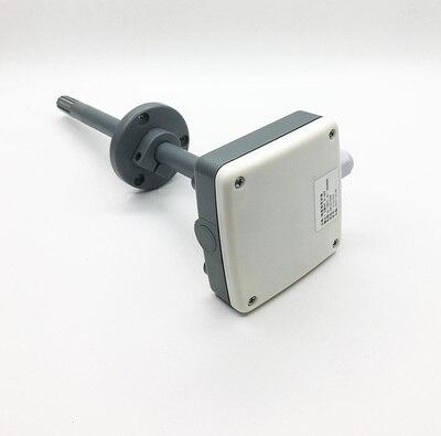 Haute précision Type de conduit vent et Tube température et humidité capteur transmetteur industrie 485 0-10 V 0-5 V 4-20mA