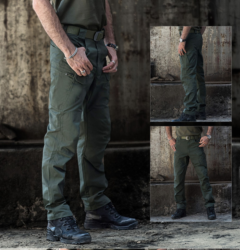 MEGE Brand Tactical Camouflage Military Casual Combat Cargo Pants Water Repellent Ripstop Men's 5XL Trousers  Spring Autumn 87