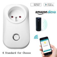 TIANJIE Wifi Smart Plug Home Automation Phone App Timing Switch Remote Control 100 240V Wifi Socket