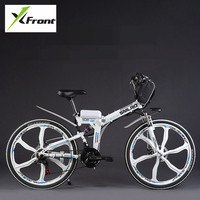 Original X Front brand 48V 350W Lithium Battery Electric folding Mountain Bike Electric Bicycle downhill Cycling ebike